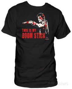 Army of Darkness - Bloody Boom Stick Tee - Movie Tee