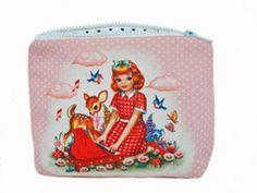 WU & WU Piano Girl Makeup Bag