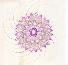 Mandala -  Chakra kruin Crown chakra / Sahasrara