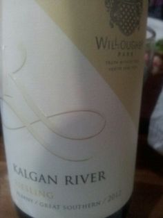 #WilloughbyPark #Riesling 2013  (#RNAWA13)