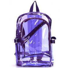 Bright colored 90s vintage overstock clear Jelly backpack bag black,... (36 PAB) ❤ liked on Polyvore featuring bags, backpacks, accessories, clear bags, pink clear backpacks, pink black backpack, beach bag and pocket backpack