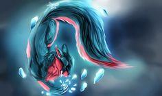 ICE SHARDS by Lithroxid.deviantart.com on @DeviantArt