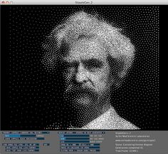 Woodworking Program StippleGen 2 - free opensource halftone image conversion for CNC Woodworking Courses, Woodworking School, Learn Woodworking, Evil Mad Scientist, 5 Axis Cnc, Cnc Software, Router Projects, 3d Cnc, 3d Laser