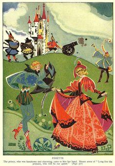 Vintage 1935 Joyce Mercer print, via Etsy.