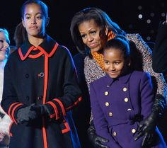 A Look Back At Malia And Sasha Obama's First Daughter Style
