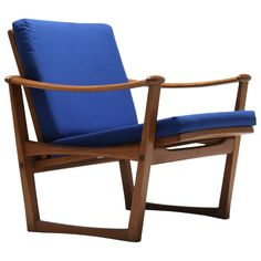 M.Nissen Horsens Oak Armchair Chair | From a unique collection of antique and modern armchairs at https://www.1stdibs.com/furniture/seating/armchairs/