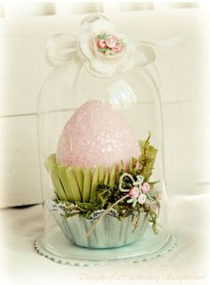 Easter Cloche by Michele Kovack at Thought Of A Cardmaking Scrapbooker