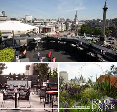 Stunning cityscape from the the London Rockwell Bar and Restaurant at Trafalgar.   #londonview  http://www.foodanddrinkguides.co.uk/central-london/vista--rockwell-at-the-trafalgar/restaurant/10384