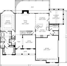 Laurel Ridge - Frank Betz Associates, Inc. | Southern Living House Plans