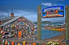 Stewman's Lobster Pound, Bar Harbour, Maine  by gbyrne2, via Flickr