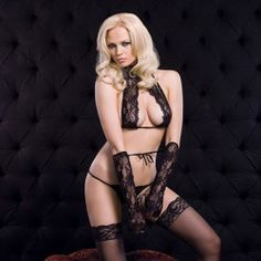 NAUGHTY LACE SET