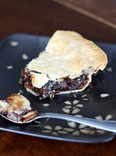 Nothing says Christmas like a mincemeat pie recipe.