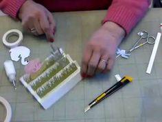 Harmonica kaart met mica dakje - YouTube