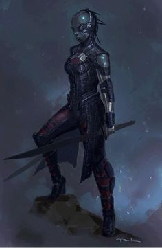 """Guardians of the Galaxy """"Nebula"""" concept art by Andy Park Check out Guardians of the Galaxy concept art by Andy Park ! In Guardian. Nebula Character, Character Art, Character Design, Gamora And Nebula, Nebula Marvel, Karen Gillian, Marvel Concept Art, Andy Park, Hq Marvel"""