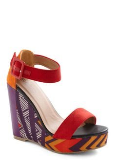 Statement of Purpose Wedge  from Modcloth
