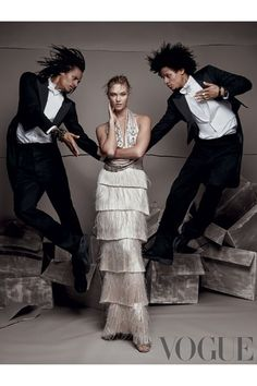 Karlie Kloss in Vogue