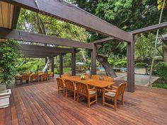 Mansion dream house: A unique Pacific Palisades post and beam dream house #mansion #dreamhome #dream #luxury