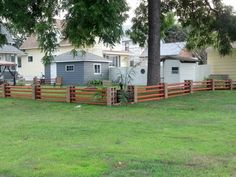 Such an easy way to make a fence! Could even be temporary for a rental.