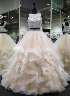 Plus Size Prom Dress, round neck tulle long prom dress, ball gown Shop plus-sized prom dresses for curvy figures and plus-size party dresses. Ball gowns for prom in plus sizes and short plus-sized prom dresses Cute Prom Dresses, Tulle Prom Dress, Sweet 16 Dresses, Elegant Dresses, Pretty Dresses, Homecoming Dresses, Wedding Dresses, Awesome Dresses, Prom Outfits