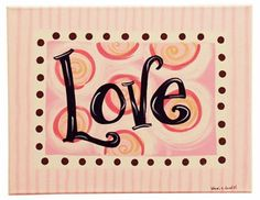 valentine's canvas painting idea