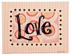 valentine's canvas painting idea