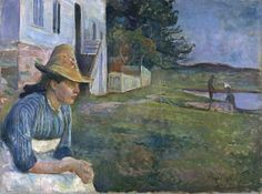 Atardecer - Edvard Munch | Museo Thyssen