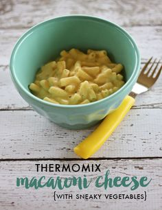 Thermomix Mac and Cheese {with sneaky vegetables}