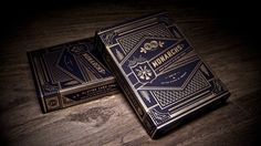 I have these and love them. monarchs playing cards. $6.95 (designed by neighborhood studio)
