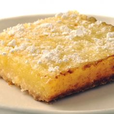 A Delicious recipe for lemon squares.. Lemon Squares II Recipe from Grandmothers Kitchen.