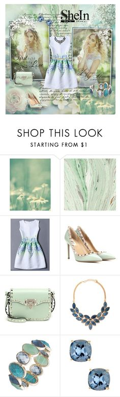 """SheInside"" by kristina-kazlauskaite ❤ liked on Polyvore featuring WithChic, Valentino, Forever 21, Anne Klein, Candela, Topshop, WALL, Sheinside and shein"
