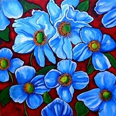 Blue Himalaya Poppies by Renie Britenbucher mural at Magic Murals. Every 1 of our thousands of wallpaper murals can be custom sized to your specs. Framed Wall Art, Wall Art Prints, Framed Prints, Wall Murals Bedroom, Lemon Art, Mexican Flowers, Rock Flowers, Art Terms, Peel And Stick Vinyl