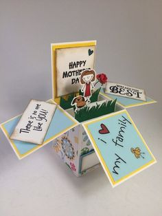 3D-Handmade-Box-Cards-36 45 Most Breathtaking 3D Handmade Box Cards