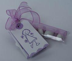 LO SCRAPBOOKING DI VERONICA: Prima Comunione di Letizia: i porta confetti