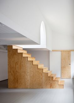Freestanding Wooden Staircase