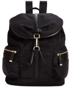 Calvin Klein Talia Dressy Nylon Backpack | macys.com