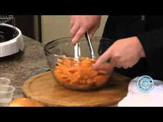 Cooking Sweet Potato Fries using the NuWave Oven