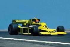Emerson Fittipaldi (BRA) (Copersucar-Fittipaldi), Fittipaldi FD04 - Ford-Cosworth DFV 3.0 V8 (finished 14th)  1977 Spanish Grand Prix, Circuito Permanente del Jarama