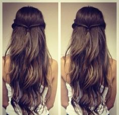 Simple hairstyle Images