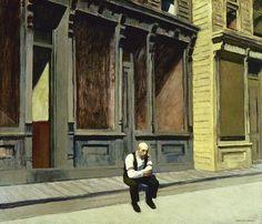 Edward Hopper / Sunday / 1926 / Phillips Collection