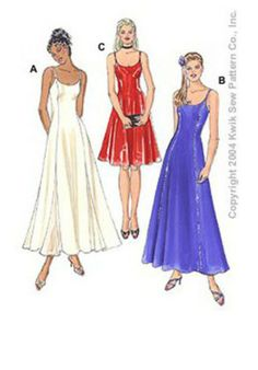 Kwik Sew 3294 - Sewing- Patterns- NZ - dresses, childrens, babies, toddlers, simplicity, burda, new look, project runway