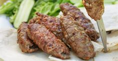 Something a little different, and a lot delicious, to throw onto your barbecue. These Greek-inspired skewers are sure to get your mouth watering. Lamb Mince Recipes, Kebab Recipes, Wine Recipes, Cooking Recipes, Healthy Recipes, Lebanese Recipes, Turkish Recipes, Greek Recipes, Armenian Recipes