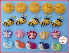 Soli, api, farfalle e lumache, by Non ti scordar di me ♥, 2,00 € su misshobby.com