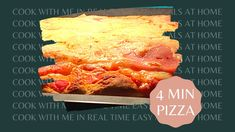 PIZZA TIME Cooking Box, Cook At Home, Quick Recipes, Pizza, Make It Yourself, Easy, Food, Fast Recipes, Essen