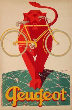 48 belles publicités anciennes pour des vélos - La boite verte