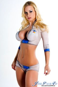 Apologise, Sexy big boob body paint Lingerie free sex topic has