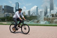 9 | Introducing The Blackline, A Bike To Navigate The Windy City | Co.Exist | ideas + impact