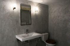 Wall - Bathroom - Micro Concrete Beton Design, Concrete Design, Micro Concrete, Bedroom Wall, Interior And Exterior, Wall Lights, Bathtub, Cool Stuff, Home Decor