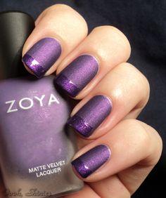 Zoya Savita with Top Coat Tips | www.ooohshinies.com
