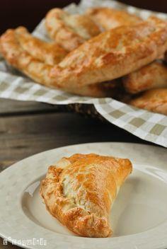 Mini empanada de berenjenas y manzana - L'Exquisit