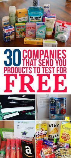Did you know companies send out free products in exchange for reviews and customer feedback? You've just got to know which companies and how to...